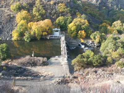Copco 2 Dam, one of the four Klamath dams to be removed