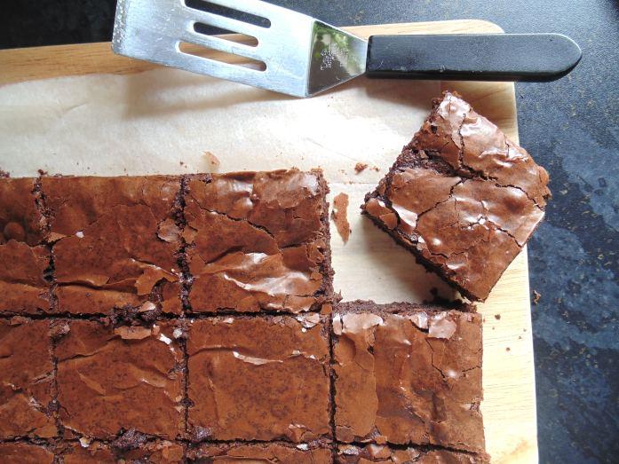 dairy free triple chocolate brownies