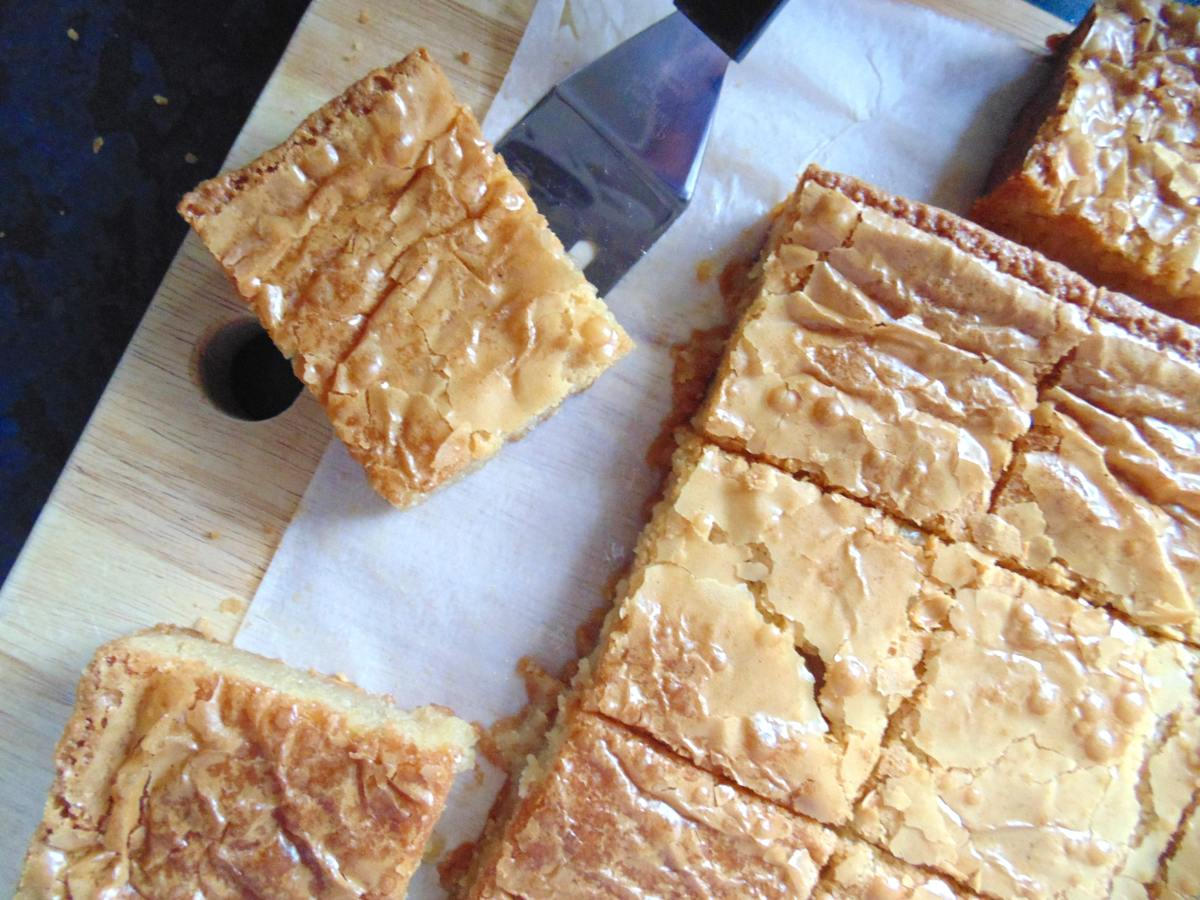 Best White Chocolate Blondies!