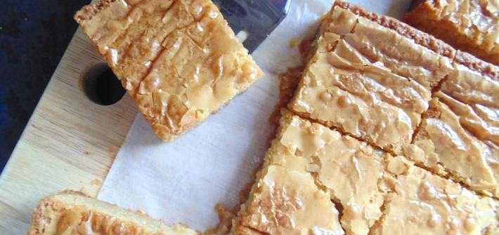 best white chocolate blondies