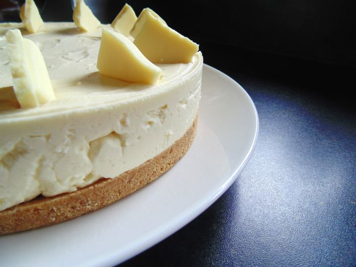 milky bar cheesecake