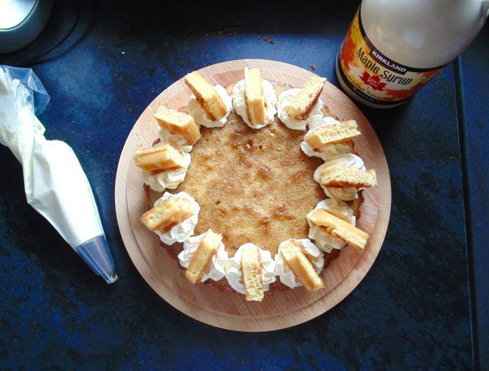 Maple Waffle Cake