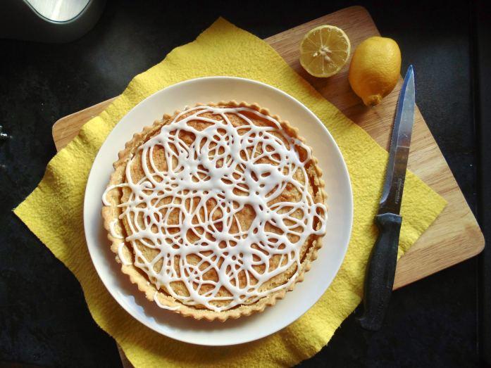 lemon bakewell tart