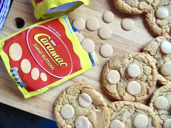 caramac cookies