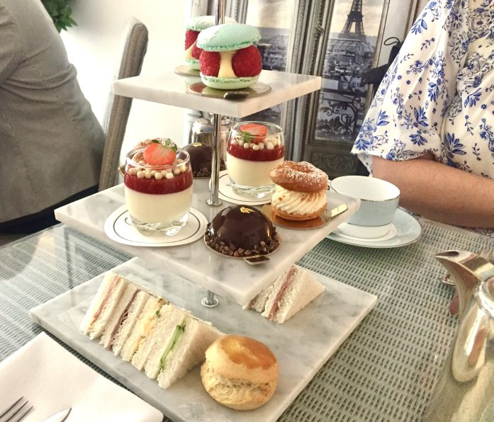 Almondine afternoon tea