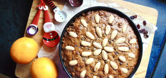 make ahead christmas cake
