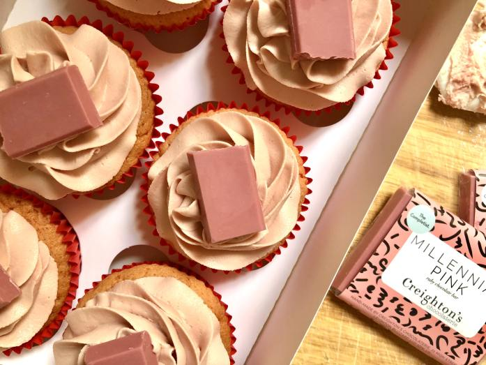 baking with ruby chocolate