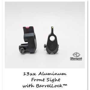 Crosman 1377, 1322 fiber sight barrel band