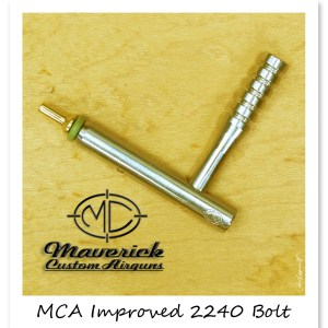 MCA Custom .22 cal Bolt & Handle