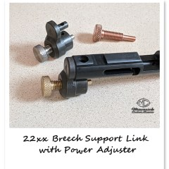 22xx Breech to Main Tube Support Link with Hammer Spring Power Adjuster