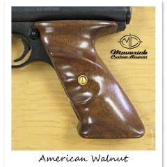 American Walnut Crosman Wood Grip Set