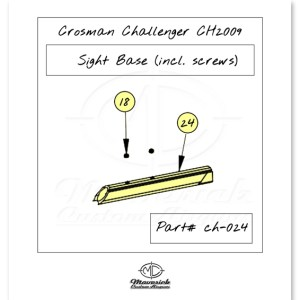 CH2009 Front Sight Base Kit