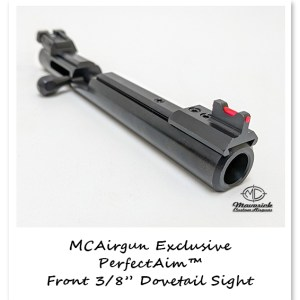 MCAirguns' PerfectAim™ Front Dovetail Sight for the Crosman steel and aluminum breeches