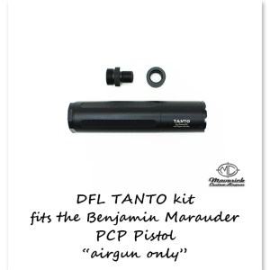 DFL Airgun Moderator Tanto Marauder Pistol kit