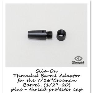 Thread Barrel Adapter for Crosman Barrels (Copy)