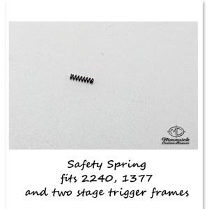 Trigger Frame Safety Spring