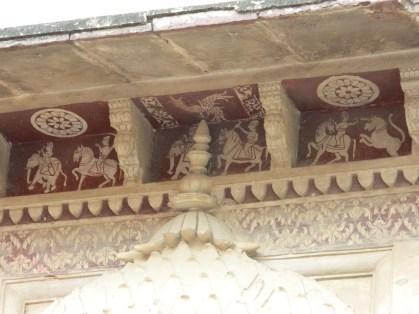 Fresco at Laxmi Narayan Temple