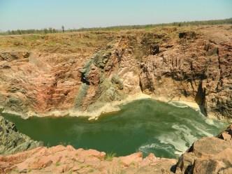 Ken River forming a Canyon, Raneh