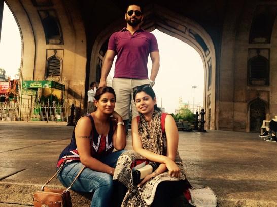 Us at Charminar
