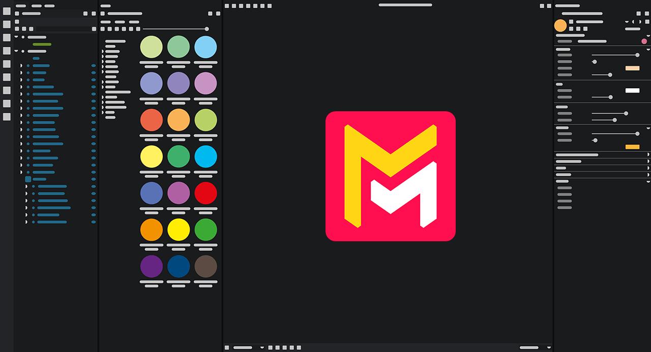 Maverick Studio UI mockup