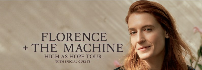 florence and the machine high as hope conciertos tour españa madrid barcelona disco critica opinion