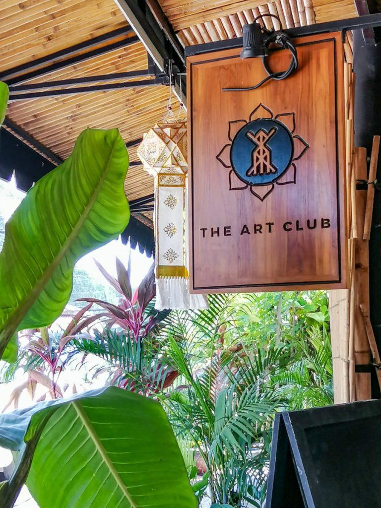 Enseigne The Art Club