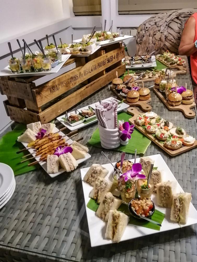 Buffet traiteur à domicile a Koh Samui