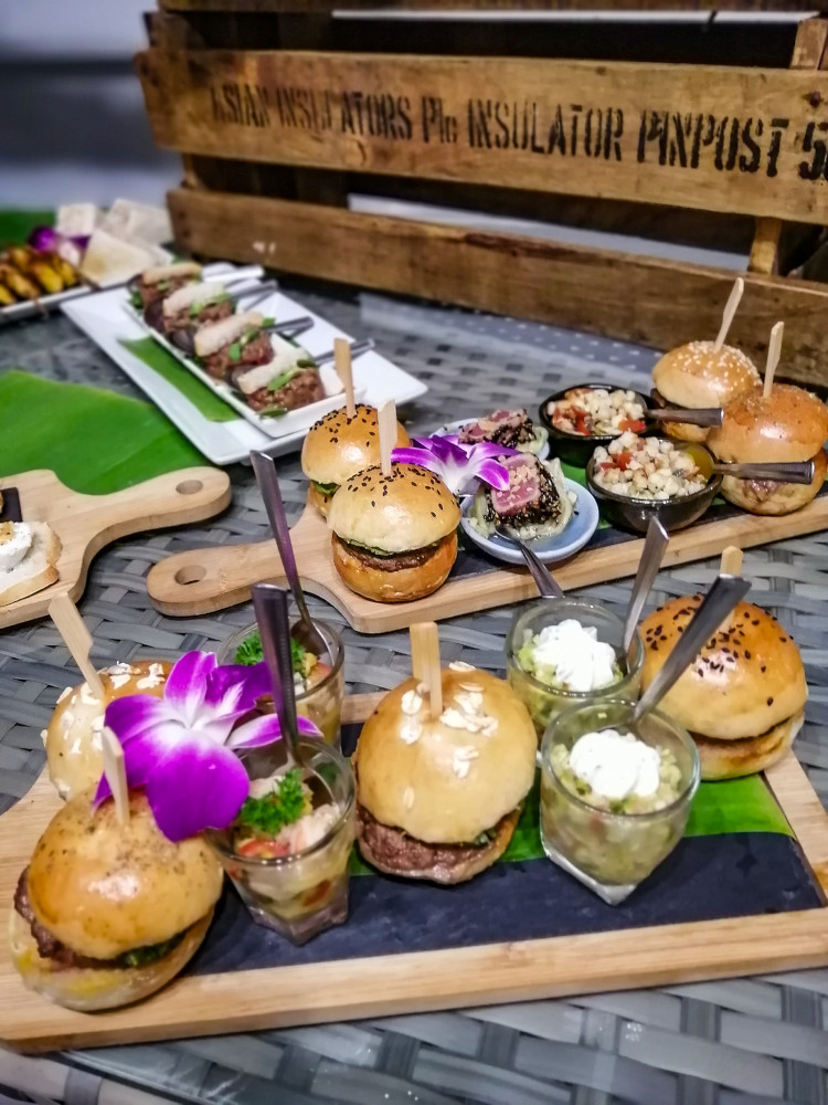 Mini burger traiteur Koh Samui