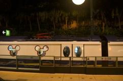 the cute Disneyland train