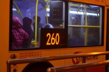 Streets of Central - Bus 260 to Stanley
