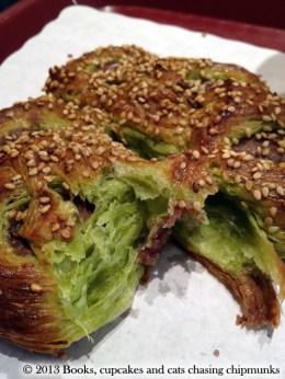 Green Tea Koshi An Croissant