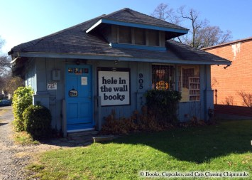 Hole in the Wall Books - Falls Church, VA | Books, Cupcakes, and Cats Chasing Chipmunks