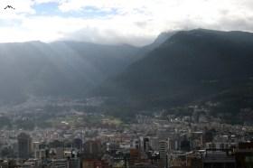 Vista de Quito desde El Batán