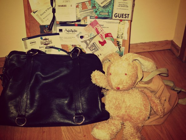 Jimmy si geanta neagra