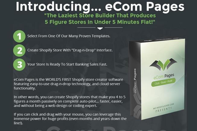 eCom Pages Pro