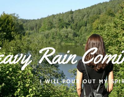 A Refreshing Stream – A Good Rain is Coming!