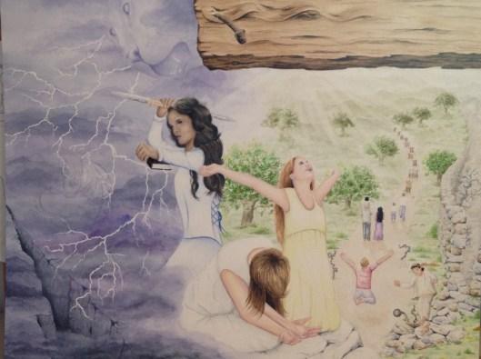 Under the Cross by MaryAnn Ward