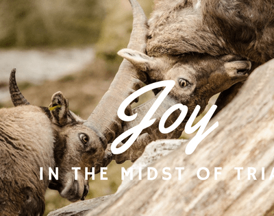 Great Trials Matched by Great Joy – James 1 Perspective