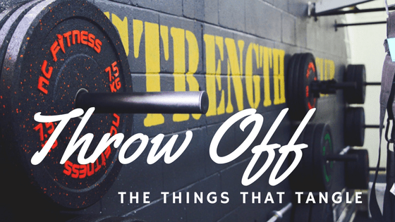 Throw Off Every Weight