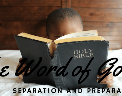The Word of God – Cutting a Straight Line!