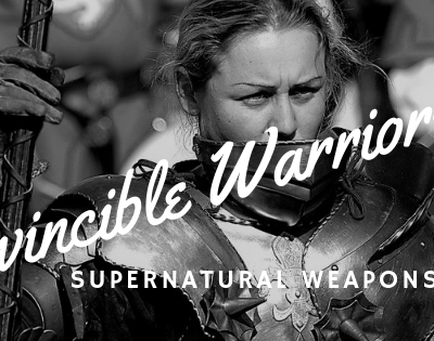 Invincible Warriors With Supernatural Weapons – No More Excuses
