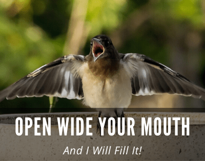 Psalm 81 – Open Wide Your Mouth and I Will Fill It