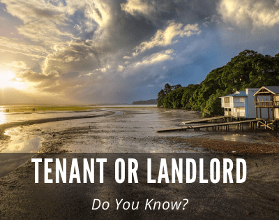Tenant or Landlord? Do You Know? Remember and Appreciate!