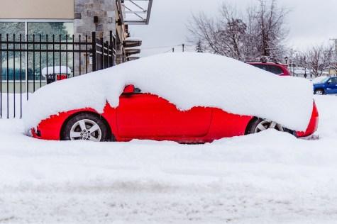 Stuck Snow Storm