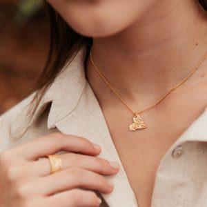 Collar Madero Heart