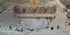 جرش من المدن المشهورة على طريق التجارة قبل الإسلام في منطقة
