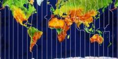 يبلغ عدد المناطق الزمنية على سطح الأرض
