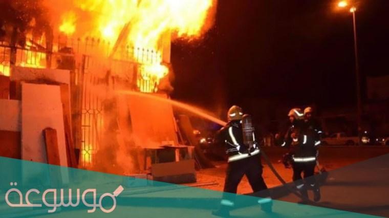 سبب اندلاع حريق كنيسة مارمينا العمرانية