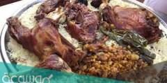 ما هو الحنيذ واللحم المقلقل ؟