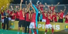 كم عدد بطولات الاهلي المصري القارية